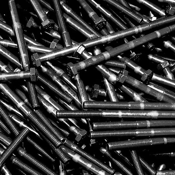 pile of bolts